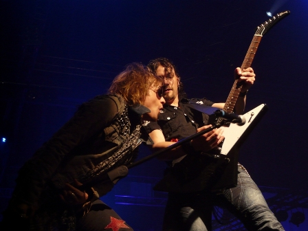 Tobias Sammet and Jens Ludwig with Edguy