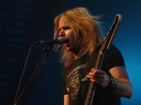 Tobias Exxel from Edguy live in Belgium