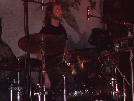 Olle Dahlstedt from Entombed