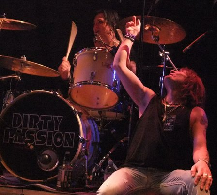 Randi Scott and Donnie Vie from Enuff Z'Nuff live