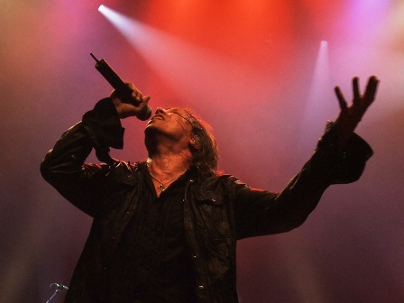 Joey Tempest from Europe  - Live in Paris