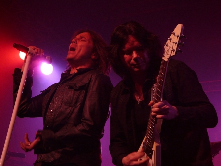 Joey Tempest and John Norum with Europe live in Mons