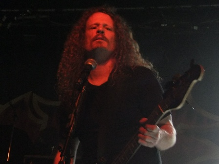 Jack Gibson from Exodus live in Paris
