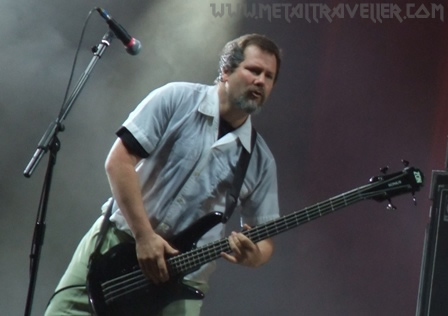 Billy Gould from Faith No More live at Rock En Seine Festival in Paris, France
