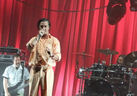 Billy Gould, Mike Patton and Mike Bordin - Faith No More live in St Cloud, France - August 29 2009