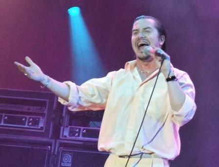 Mike Patton from Faith No More at Rock En Seine in Paris, France - August 29 2009