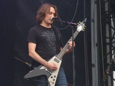 Frank Aresti from Fates Warning live in Balingen
