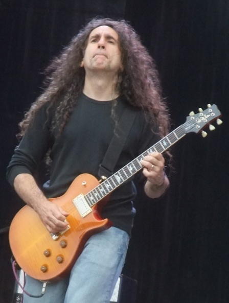 Jim Matheos from Fates Warning live at the Bang Your Head