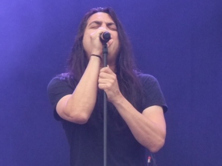 Ray Alder from Fates Warning live at the Bang Your Head