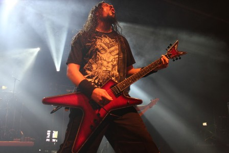 Craig Lociero live at the Alcatraz Metal Festival with Forbidden