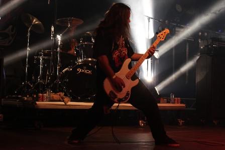 Matt Camacho and Gene Hoglan - Forbidden live at Alcatraz Metal Festival Belgium with Forbidden