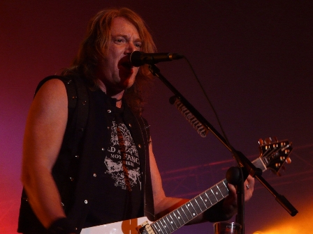 Kai Hansen with Gamma Ray live in Belgium