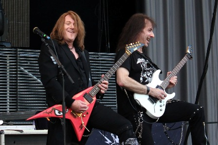 Kai Hansen and Henjo Richter - Gamma Ray ready to rock
