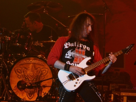 Dan Zimmerman and Henjo Richter with Gamma Ray