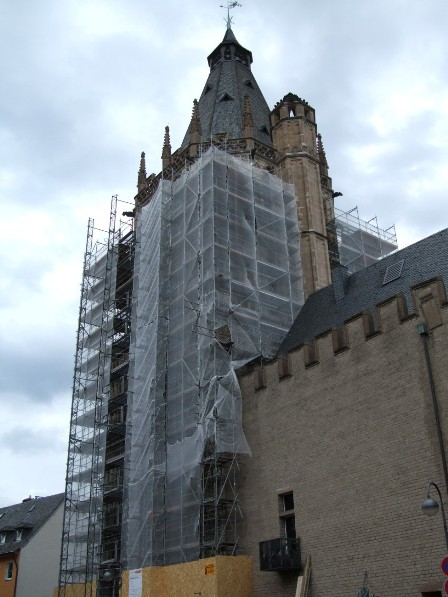 City Hall under restauration, Cologne, Germany