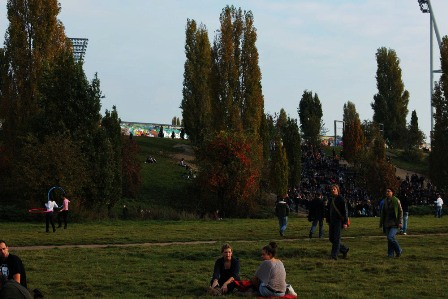 A nice day for a walk in Berlin's Mauerpark