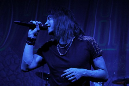 Nic Maeder from Gotthard live in Paris
