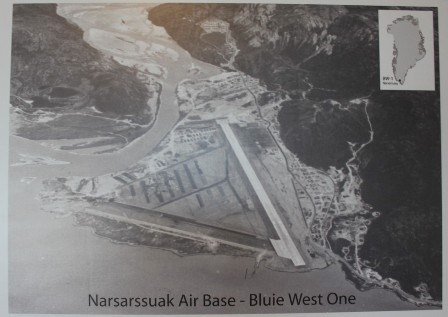 Narsarssual Air Base - Bluwie West One ... seen from above