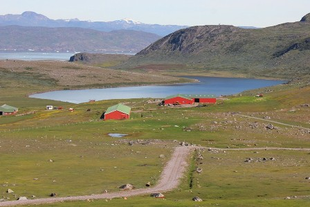 The farm of Itilleq, Greenland