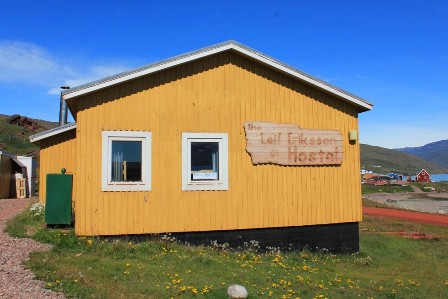 The Leif Eriksson Hostel in Qassiarsuk