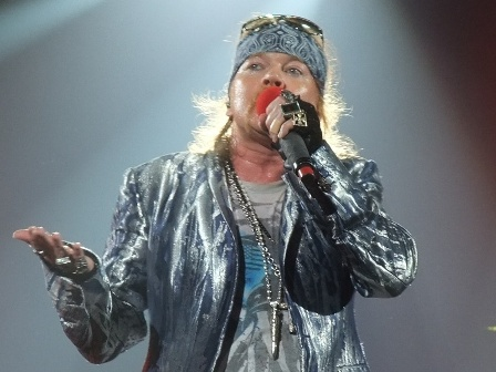 Guns'n'Roses at Bercy