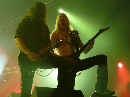 Pontus and Dronjak with Hammerfall live in Belgium