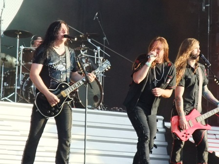 Hammerfall live at Wacken Open Air