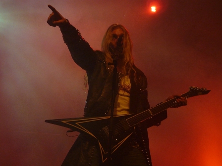 Oscar Dronjak from Hammerfall - Live at the PPM Fest - January 12 2009
