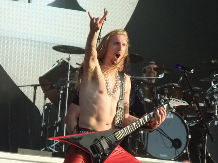 Oscar Dronjak and Anders Johansson live in Wacken
