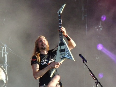 Oscar Dronjak in Wacken