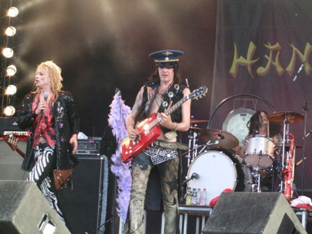 Hanoi Rocks live at Sweden Rock Festival, Sweden, June 2008