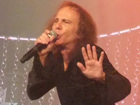 Ronnie James Dio live in Paris with Heaven and Hell