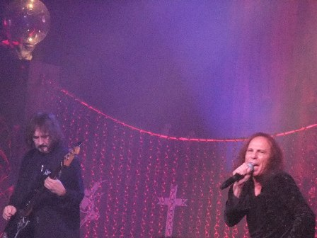 Geezer Butler and Ronnie Dio live