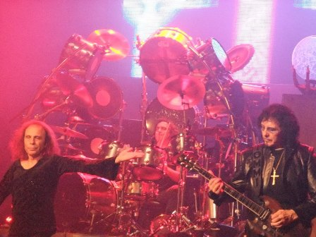 Dio, Vinny Appice and Toni Iommi... Black Sabbath!
