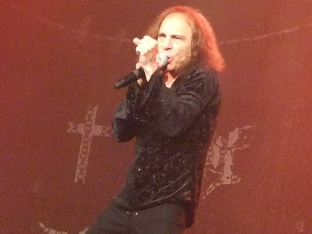 Ronnie James Dio with Heaven And Hell in Paris
