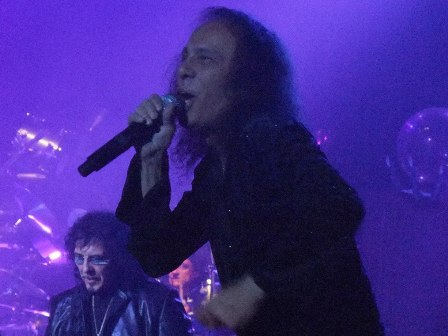 Tony Iommi and Ronnie Dio from Heaven And Hell in Paris - June 23 2009