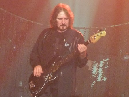 Geezer Butler with Heaven And Hell in Paris