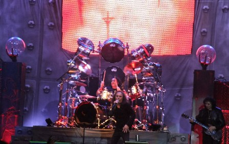 Vinny Appice and Tony Iommi from Heaven And Hell in Milan - June 27 2009