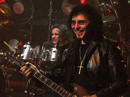 Tony Iommi Smiling!