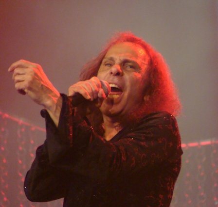 Ronnie James Dio at the Hellfest in Clisson