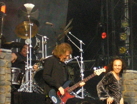 Vinny Appice with Heaven And Hell in Dessel