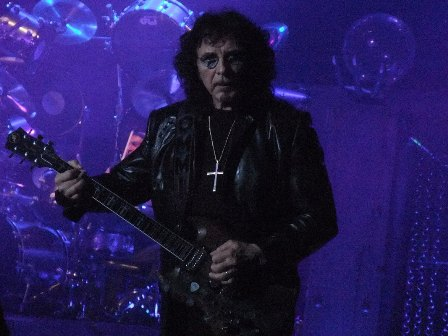 Tony Iommi with Heaven And Hell in Paris