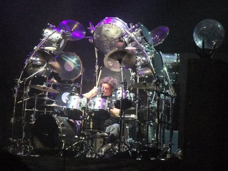 Vinny Appice with Heaven And Hell in Paris