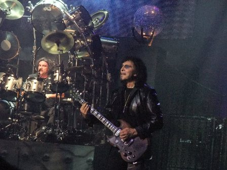 Vinny Appice and Tony Iommi from Heaven And Hell in Paris - June 23 2009