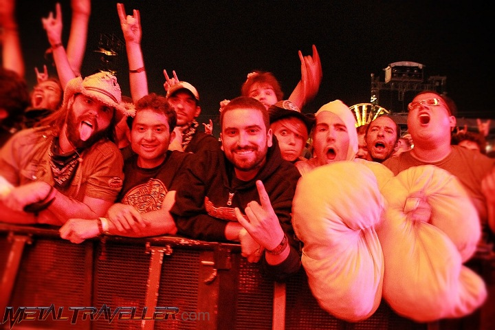 Fans at hellfest Open Air