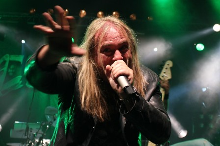 Andi Deris live at the Alcatraz Metal Festival with Helloween