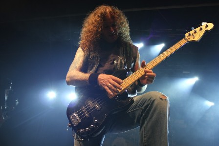 Markus Großkopf bass solo during Eagle Fly Free