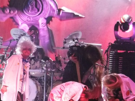 Dr Steins with Helloween live in Germany