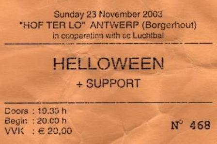 Andi Deris singing - Helloween live