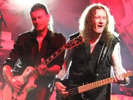 Michael Weikath and Markus Großkopf - the founders of Helloween live in concert